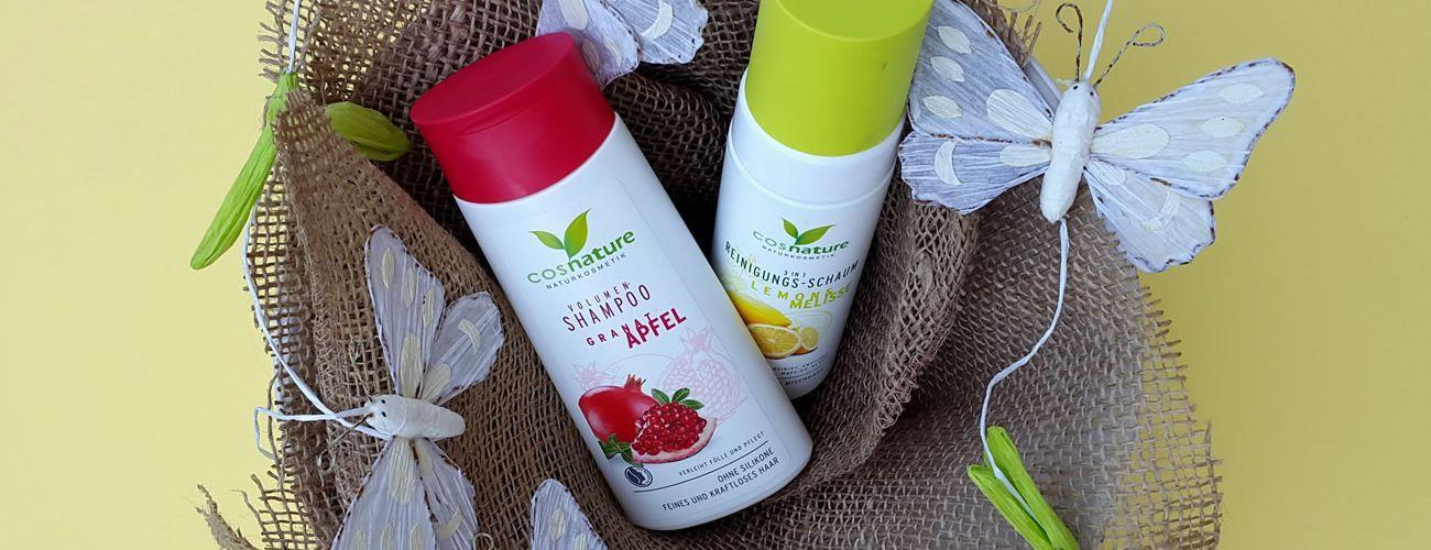 Review | Shampoo e Mousse Struccante Cosnature